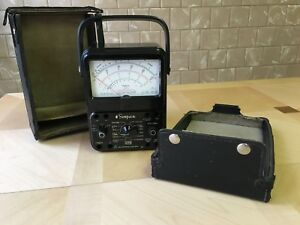 Simpson 260 Roller Case Vom Analog Volt Ohm Milliammeter