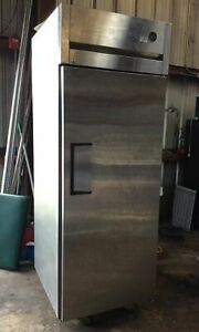 True Tg1r 1s Reach in Single Solid Swing Door Refrigerator