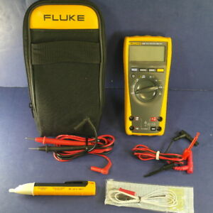 Fluke 179 Trms Multimeter Excellent Condition Soft Case And Accessories