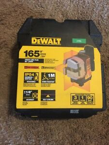 Dewalt Dw089k Level And 3 Beam Laser With Case Never Opened