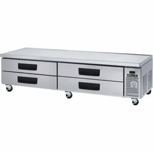 Blue Air Commercial Refrigerated Chef Base 97 With 4 Drawers