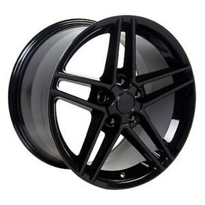 Black Wheel 18x9 5 For 1993 2002 Chevy Camaro Owh0290