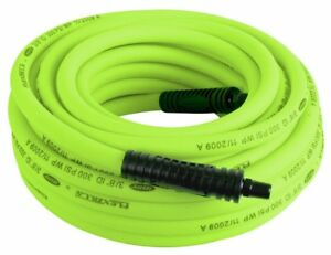 Flexzilla Air Hose 3 8 In X 50 Ft 1 4 In Mnpt Fittings Heavy Duty