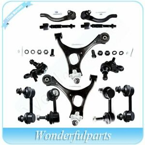 12pc Complete Front Rear Suspension Kit Tie Rod Ends For 2006 2011 Honda Civic