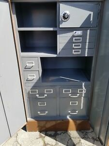 Cole Steel Cabinet With Safe