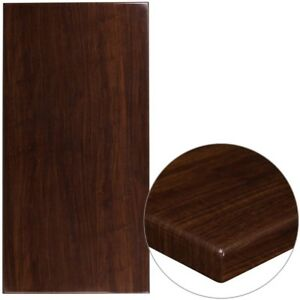 New 2 x30 x60 Veneer Butcher Block Dark Mahogany Restaurant Tabletop Furniture