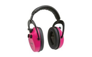 Allen 2232 Axion Electronic Shooting Muff Pink Nrr 25db Aaa Not Included