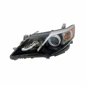 Headlight Assembly Left Autozone Lkq Parts To2502212n Fits 2012 Toyota Camry