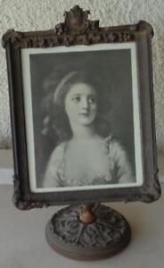 Antique All Wood Standing Frame Great Old 19th Century Frame Beautiful Detail