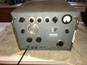 Rare Vintage Hp 620a Shf Signal Generator Powers Up