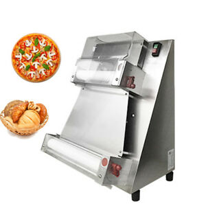 Auto Pizza Bread Dough Roller Sheeter Machine Pizza Making Machine Safe Use
