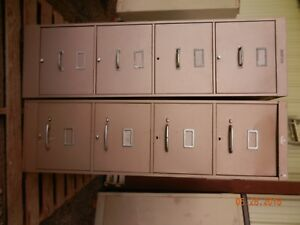 Vintage File Cabinets Shaw Walker Ase Anderson Hickey Co