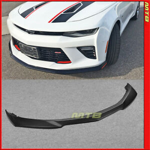 Unpainted Zl1 Style Front Bumper Lip Abs For 2016 2018 Chevy Camaro Ss