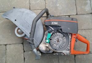 Husqvarna K760 Concrete Saw Parts Repair Not Running Untested Incomplete 1 Of 2