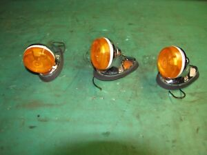 Vintage Peterson Pm 100 15 Cab Clearance Marker Lights N o s
