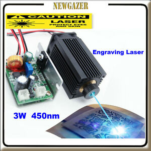 Focusable High Power 450nm 3 5w Blue Laser Module Carving burning Gift Goggles