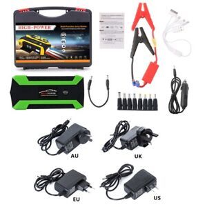 89800mah 4 Usb Car Jump Starter Pack Booster Charger Battery Portable Power Bank