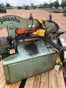 Piranha Ironworker P50 Good Condition