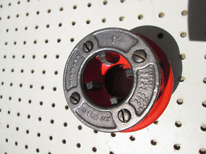 Ridgid 1 12r Pipe Threading Die Head Complete