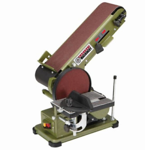 Belt Disc 34 HP 4 x 36 Grinder Miter Bevel Workshop Combination Sander