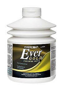 Evercoat Ever Gold Putty Fib 406 30oz Finishing Putty New