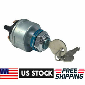 New Universal 4 Position Keyed Ignition Switch W Keys For Jeep Willys