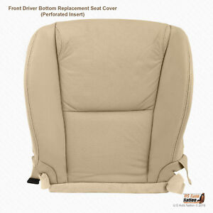 Front Driver Side Bottom Tan Perforated Leather Cover For 2006 2007 Lexus Gs350