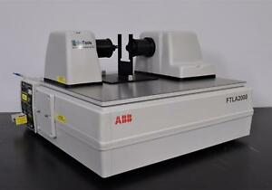 Abb Bomen Ftla2000 Analyzer Laboratory Spectrophotometer For Liquid Cell