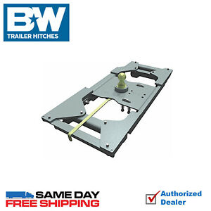 Bw Turnoverball Gooseneck Hitch 7500 Gtw Fits 2017 2019 Ford F250 F350 F450 4wd