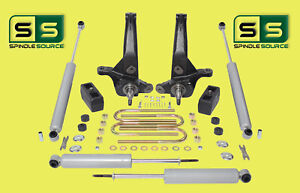 2001 2010 Ford Ranger 2wd 4 3 Lift Kit Spindles blocks 4 Shocks 4