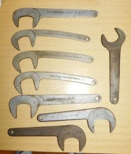 8 Vintage Blue Point Miller Bonney Caster Camber Obstruction Wrench Tool