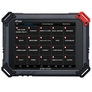Xtool X100 Pad2 Pro Auto Key Programmer With Kc100 For Vw 4th 5th Immo Scan Tool