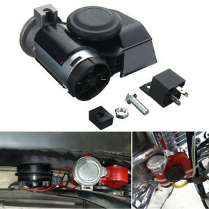 Dual Tone Trumpet Super Loud Electric Air Horn12v For Motorcycle Car Truck Train