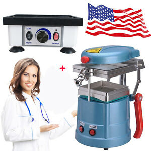 Dental Vacuum Forming Former Molding Equipment Square Vibrator Oscillator Machin
