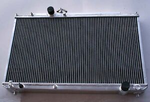 2 Row Radiator For 1996 2000 Toyota Mark Ii Jzx100 1jz gte Mt New 1997 1998 1999