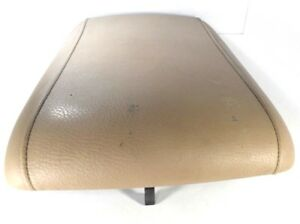 2003 06 Ford Expedition Tan Armrest Lid Cover Center Console Arm Rest 11 5 x18