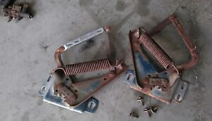 1968 1969 1970 Dodge Charger R T Hood Hinges Original With Hardware B Body