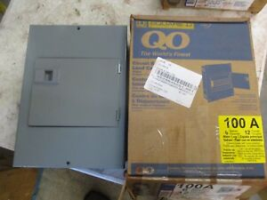 Square D Qo Load Center 529842h Nib