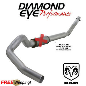 Diamond Eye 5 Inch Turbo Back Exhaust For 1998 2002 Dodge Ram 5 9 Cummins Diesel