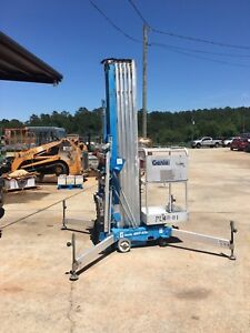 Genie Awp 40s One Man Lift Electric Scissor Boom Jlg Skyjack 41am
