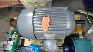Us Electric 30 Hp Ac Motor 460 Volts 286t Frame 1750 Rpm 4p