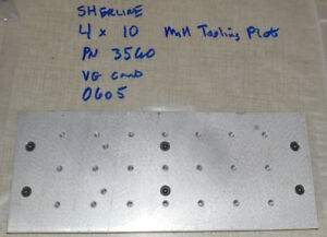 Sherline 4 X 10 Mill Tooling Plate Pn 3560 0605