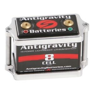Antigravity Battery Box 8 Cell Small Case Polished Aluminum Tray Ag Lc 72