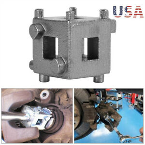 Disc Rear Brake Piston Caliper Wind Back Cube 3 8 Drive Tool Calliper Adaptor