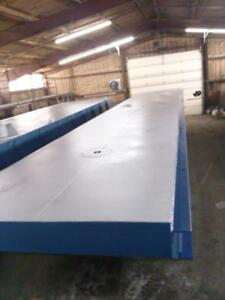 New 50 x20 x5 Sectional Barge truckable Barge Work Floats Dredge