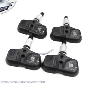 Fit Honda Accord Crv Tpms Tire Pressure Sensors 42753 swa a53 Set Of 4 Pmv 107m