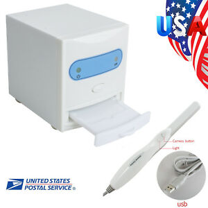 Us Dental X ray Film Reader Scanner Digital Image Converter intraoral Camera
