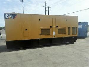 _600 Kw C18 Cat Unused 0 Hours Sound Attenuated Base Fuel Tank For Export