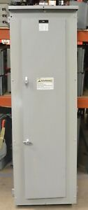 Siemens 3ph 600 Amp 208 120v 3r Main Breaker 3r Panel 24 Circuit Bl Ngb Used