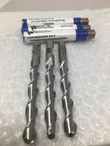 3 Fastcut 3 8 X 3 8 X 2 1 2 X 4 1 4 Hss 2 Flute Ball End Mills Extra Length